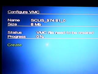 PS2 virtual memory card save game flashdisk harddisk 4