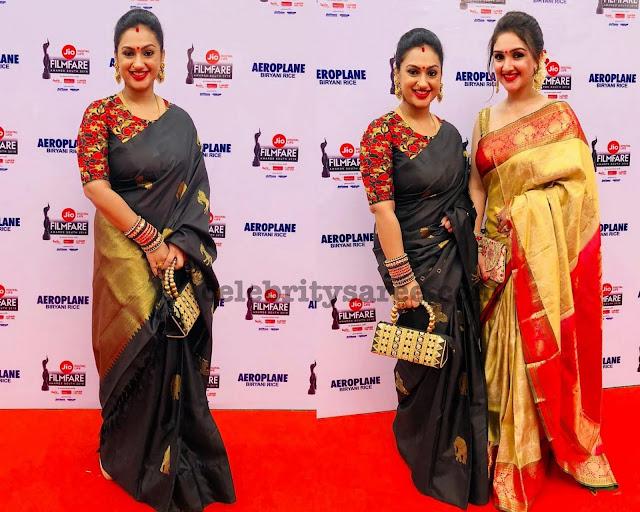 Preeta Vijaykumar Sridevi Pattu Sarees
