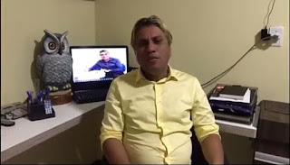 Em Cacimba de Dentro PB, Dr. Fábio Silva declara apoio ao candidato a vereador Tiago da EMATER