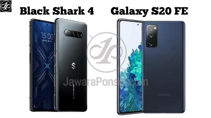 BLACK SHARK 4 VS SAMSUNG GALAXY S20 FE