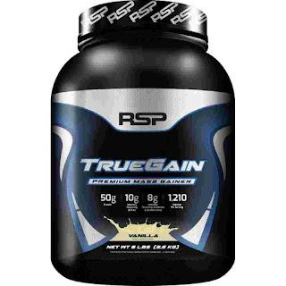 RSP Nutrition True Gain, Premium Mass Gainer Protein