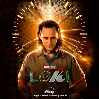 LOKI cartel de la serie de Disney y Marvel