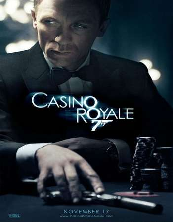 Poster Of Casino Royale 2006 Hindi Dual Audio 600MB Extended  720p  HEVC Free Download Watch Online world4ufree.org