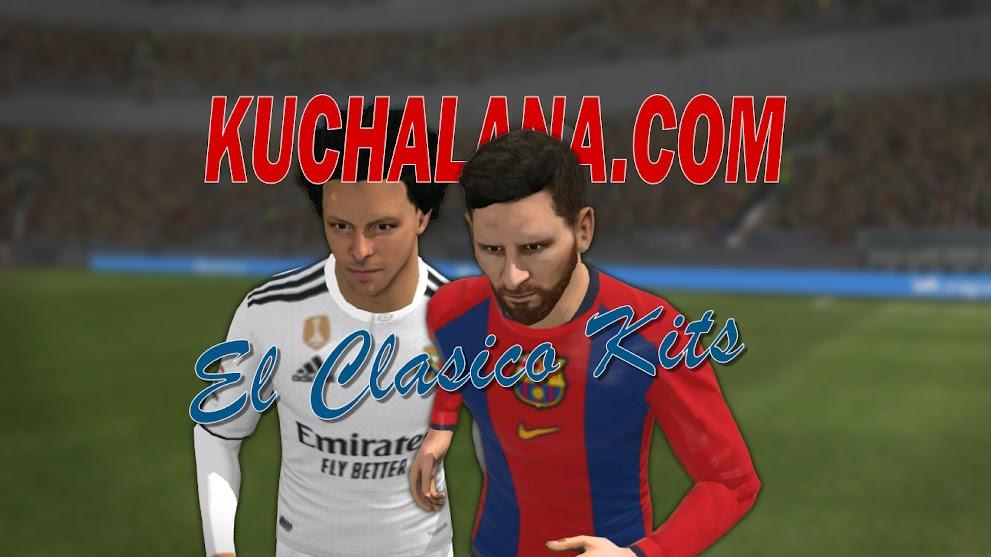 Barcelona vs Real Madrid El Clasico Kits 2019 - Dream League Soccer Kits