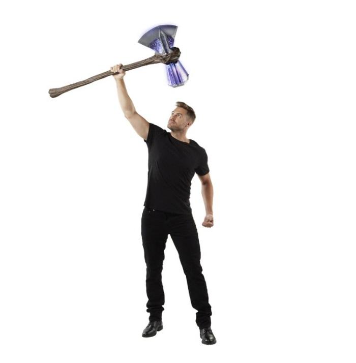 Hasbro Avengers Endgame Thor Stormbreaker Actual Size Design