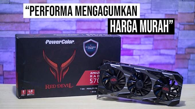Review RX 5700XT Red Devil Power Color, Powerful dengan harga terjangkau