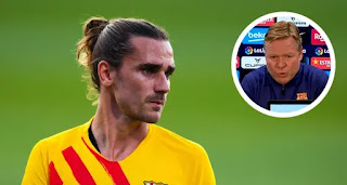 Koeman opens up on his relationship with Griezmann amidst Antoine's ongoing struggles