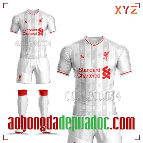 Áo CLB Liverpool Tự Thiết Kế Mã LIVE-02 Đẹp Và Độc