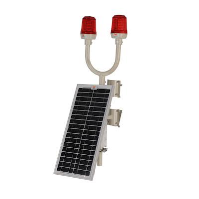 solar enerjili uçak ikaz armatürü