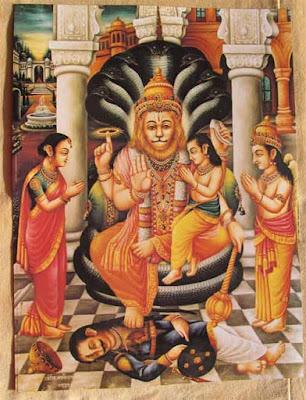 ఋణ విమోచన నృసింహ స్తోత్రం Narasimha Runa Vimochana Stotram Telugu Lyrics