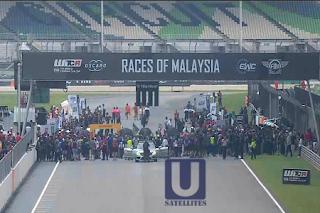 FIA World Touring Car Cup Eutelsat 7A/7B Biss Key 15 December 2019