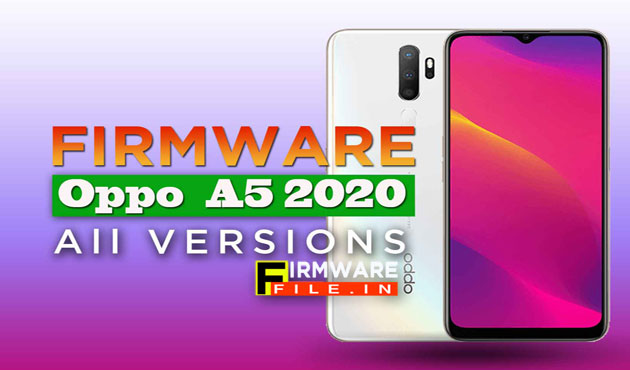 Firmware Oppo A5 2020