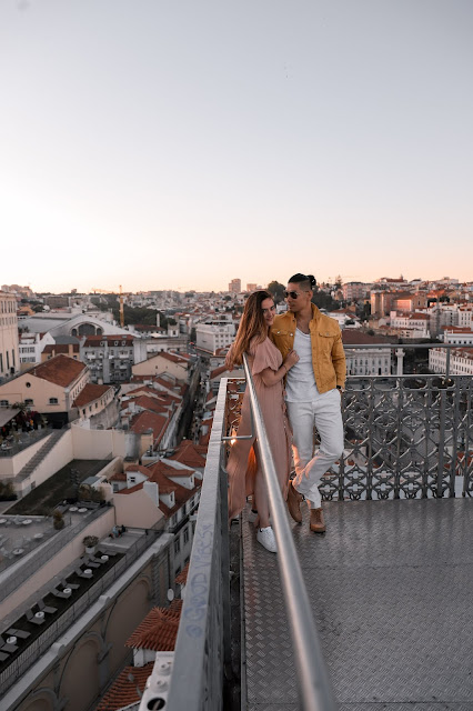 View from The Santa Justa Lift | AMWF Couple | Tips and Tricks