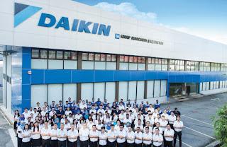 Loker Terbaru Operator Welding PT. Daikin Manufacturing Indonesia Kawasan BIIE Cikarang