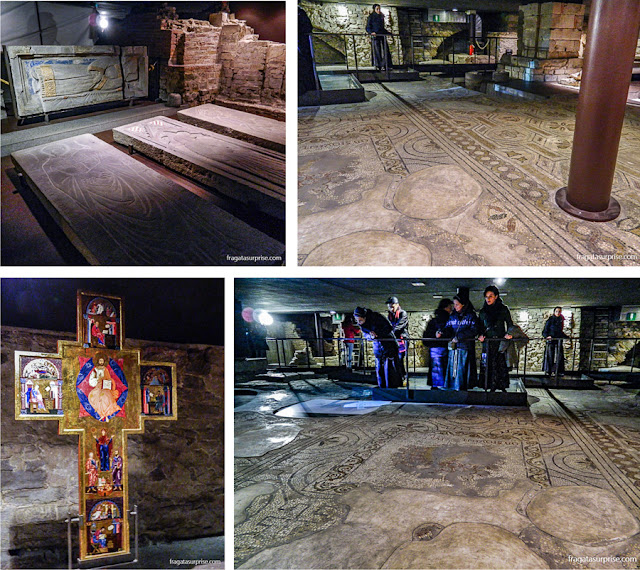 Cripta da Catedral de Florença - antiga Basílica de Santa Reparata