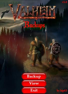 Valheim: Making a backup