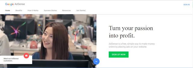Cara Untuk Mendapatkan Penghasilan Uang Dari Google AdSense