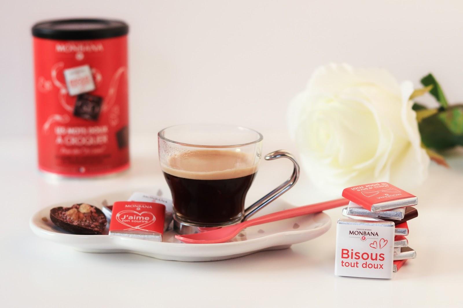 les gommettes de melo chocolats monbana avis coffret saint valentin café