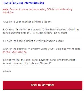 Cara belanja di Aliexpress menggunakan ATM BRI Internet Banking