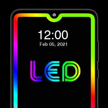 LED Edge Lighting (MOD, Premium Unlocked) APK For Android