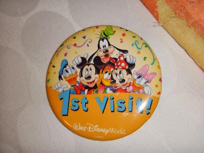 Chegada na Disney