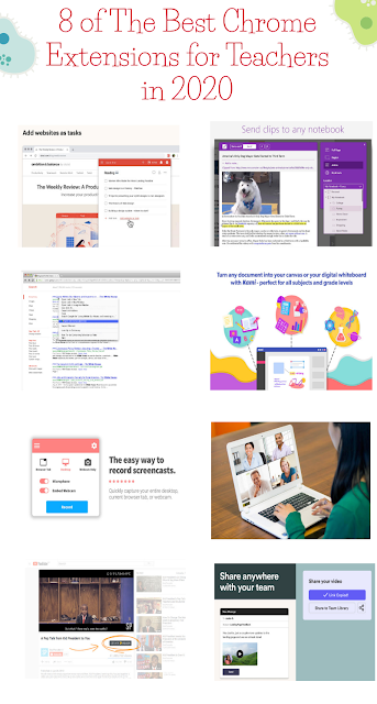 8 of The Best Chrome Extensions for Teachers in 2020