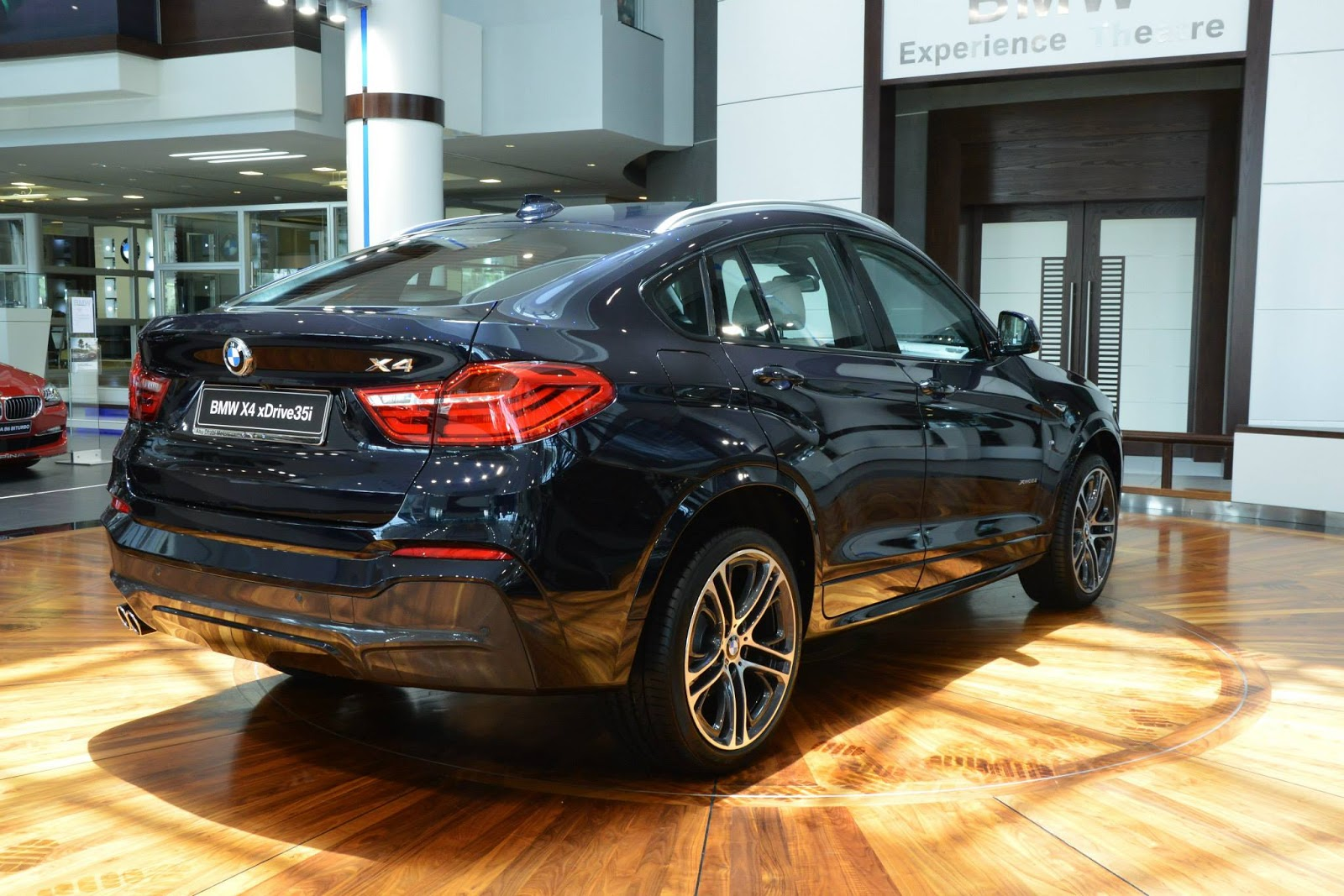 Lexus Of Melbourne >> BMW X4 M Sports in Melbourne Red and Carbon Black | Carscoops