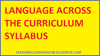 lac syllabus for b.ed