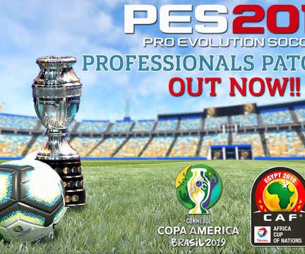 PES 2019 Professionals Patch V2.1