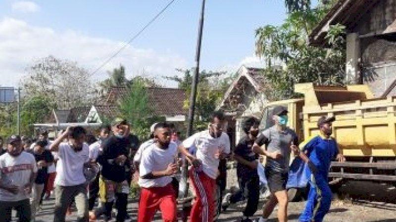 Keren! Anak Buah Prabowo Lari Sejauh 7 Kilometer untuk Mendaftar di KPU