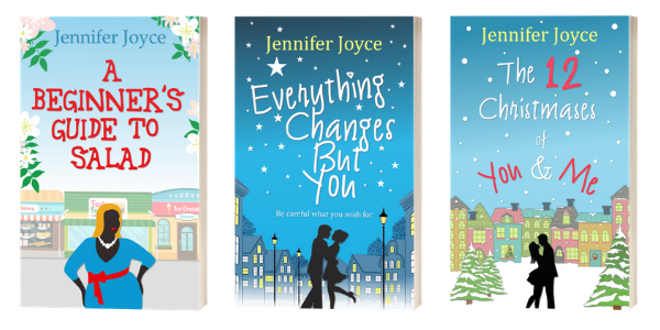 A Beginner's Guide To Salad, Everything Changes But You and The 12 Christmases of You & Me by Jennifer Joyce