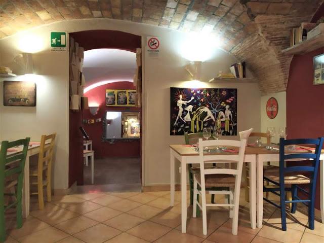 sala ristorante il Pipino rosso a Palermo