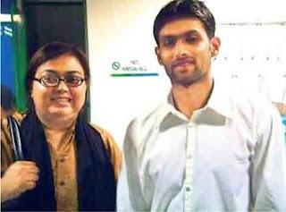 Shoaib Malik And Ayesha
