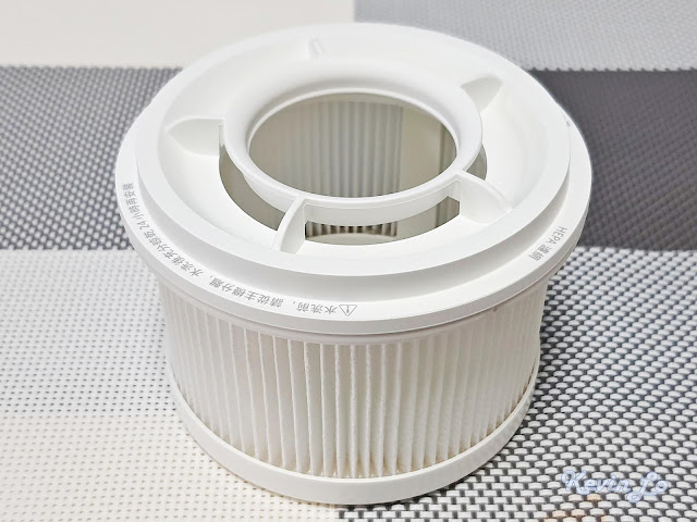 【MI 小米】米家無線吸塵器 G9 (白色) 開箱_【MI 小米】米家無線吸塵器 G9 (白色) 開箱_HEPA 濾網本體