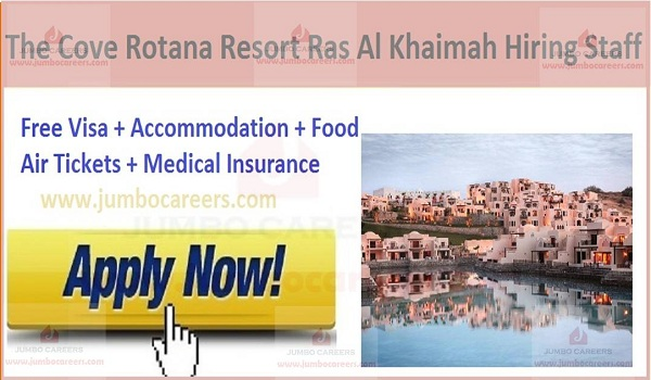 Resort jobs with free visa and air ticket,