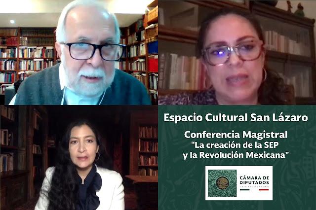 """Imparte Javier Garciadiego conferencia """"La creación de la SEP y la Revolución Mexicana"""""""