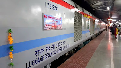 indian railway rajdhani express