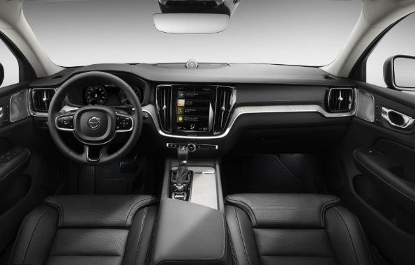 Volvo S60 Polestar full front cabin view