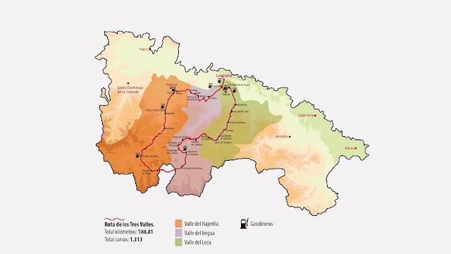 Mototurismo en La Rioja: la Ruta de los Tres Valles