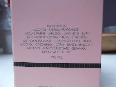parfumovaná voda Dolce&Gabbana Dolce Garden  zloženie