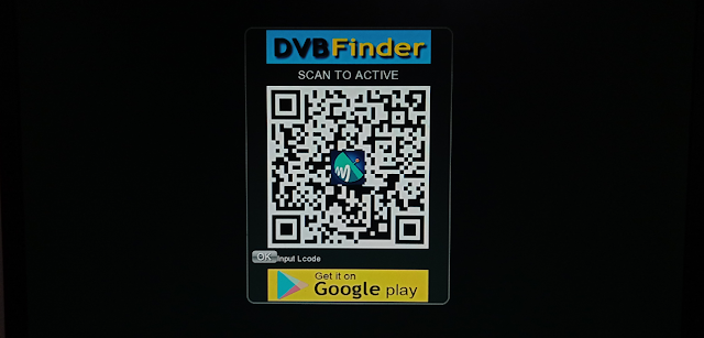 HOW TO SCAN TO ACTIVE DVB FINDER