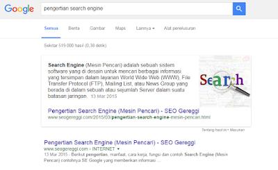 Penjelasan Cuplikan Unggulan di Tampilan Penulusuran Google