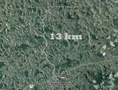 Governo Estadual poderá asfaltar estrada que liga Laranjal a Santana de Cataguases