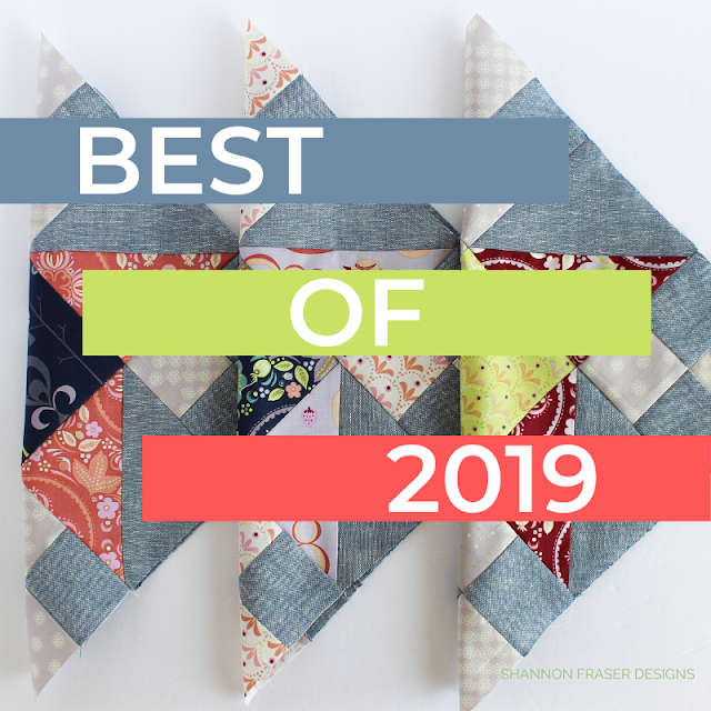 Best of 2019 | Shannon Fraser Designs #bestof2019 #quilting #modernquilts