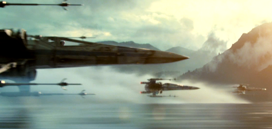 Star Wars: The Force Awakens - X-Wings