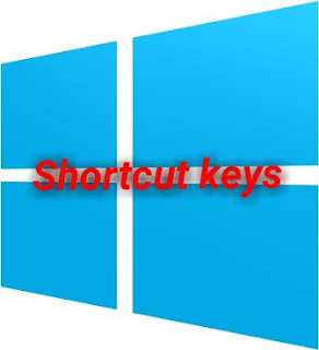 Shortcut keys for computer windows 7 , windows 8,8.1, windows10