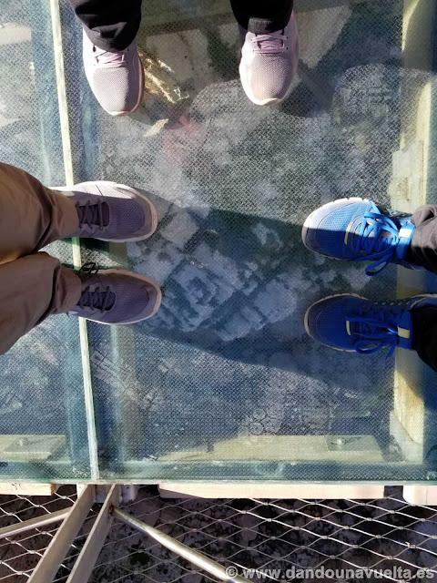 Balcón de cristal. Caminito del Rey