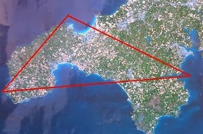 The Cornwall UFO Triangle - County Has Most Sightings in UK