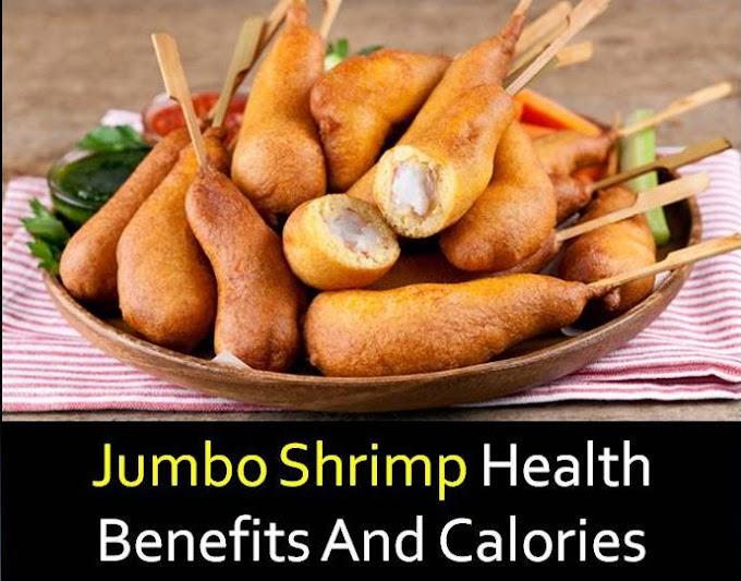 Jumbo shrimp health benefits and calories facts