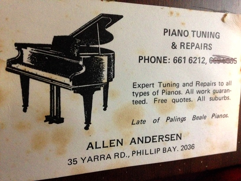 The amazing adventures of Cazzbo: Pianos: Like pulling teeth